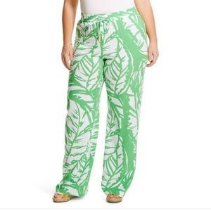 Lilly Pulitzer Plus Size Boom Boom Palazzo Pant 2X